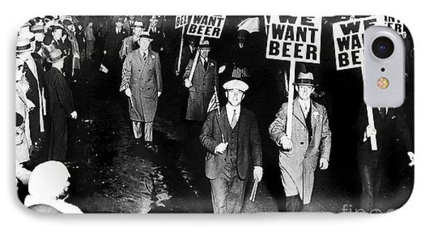 We Want Beer IPhone 7 Case by Jon Neidert