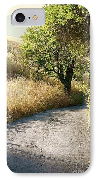 IPhone Case featuring the photograph We Will Walk This Path Together by Ellen Cotton
