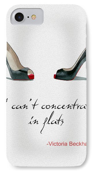 Wear The Right Shoes IPhone Case by Rebecca Jenkins