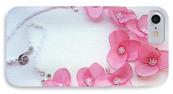 Wearable Art . One Of A Kind Statement Necklace IPhone Case by Marianna Mills
