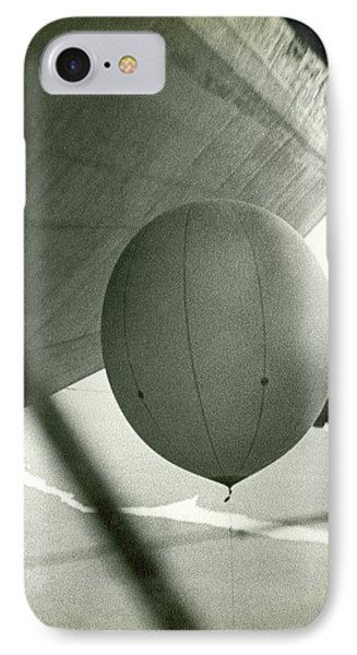 Weather Balloon Launch From Graf Zeppelin IPhone Case