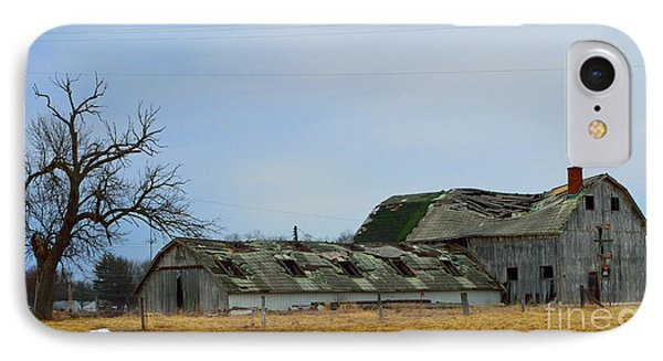Weathered Barns Phone Case by Alys Caviness-Gober