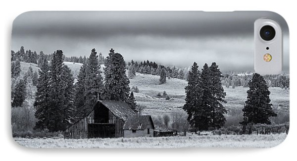 Weathered Beneath The Storm IPhone Case by Mike  Dawson