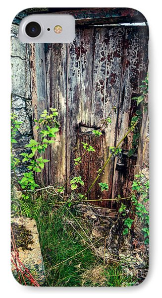 Weathered Door IPhone Case by Adrian Evans