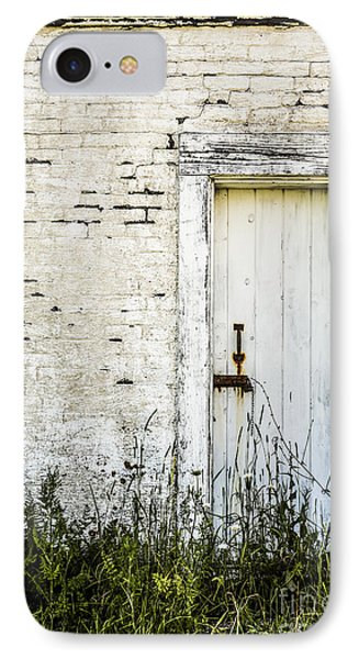 Weathered Door IPhone Case by Diane Diederich