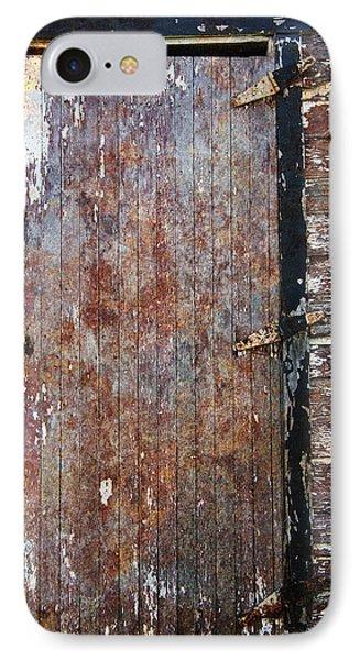 Weathered Door IPhone Case