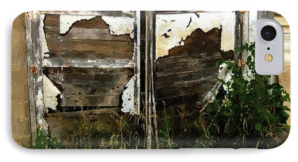 Weathered In Weeds Phone Case by RC DeWinter