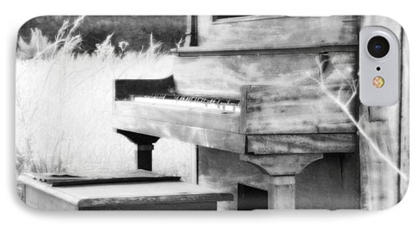 Weathered Piano Phone Case by Mike McGlothlen