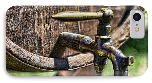 Weathered Tap And Barrel Phone Case by Paul Ward