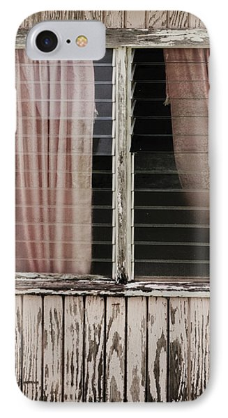 Weathered Window IPhone Case by Gary Slawsky
