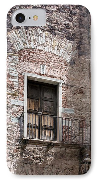 Weathered Wooden Church Doors IPhone Case by Lynn Palmer
