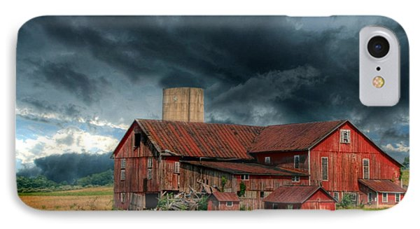 Weathering The Storm Phone Case by Lori Deiter