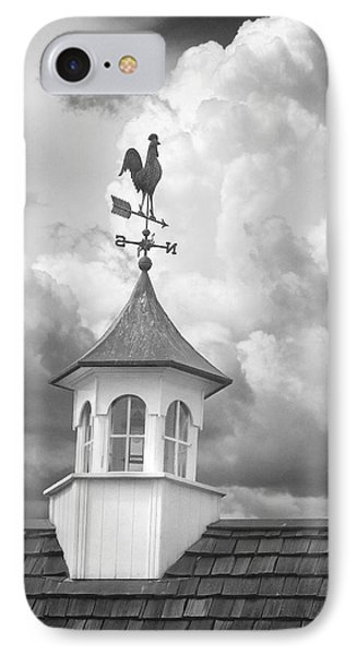 Weathervane And Clouds IPhone Case