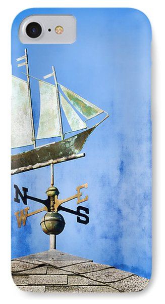 Weathervane Clipper Ship IPhone Case