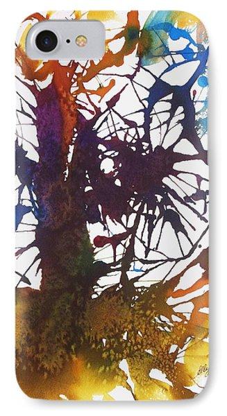 Web Of Life IPhone Case by Ellen Levinson