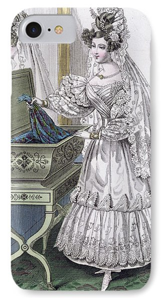 Wedding Dress IPhone Case by French School