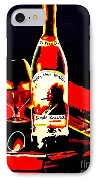 Wee Nip By The Fire IPhone Case