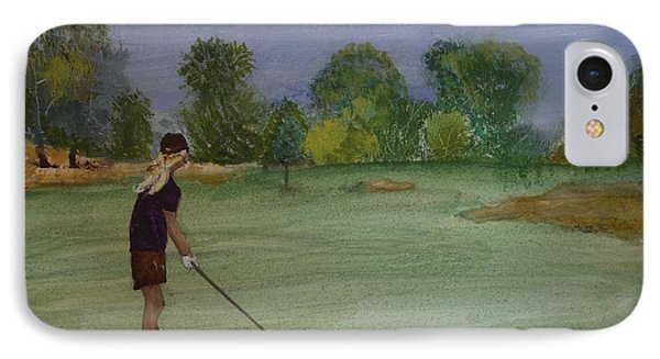 Weekends Were Made For Golf IPhone Case by Carole Robins