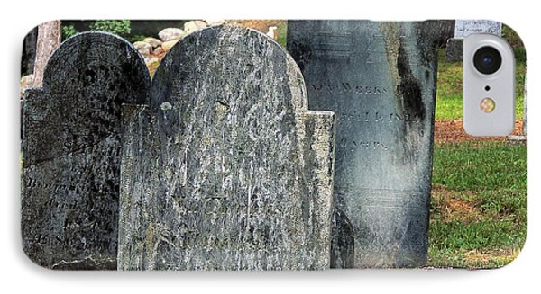 Weeks Cemetery IPhone Case by Mim White