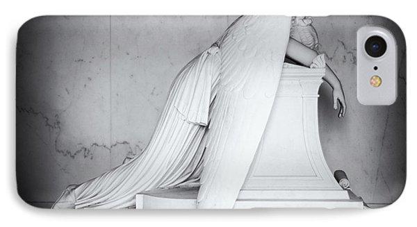 Weeping Angel 1 Phone Case by John Gusky