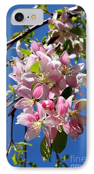 Weeping Cherry Tree Blossoms Phone Case by Carol Groenen
