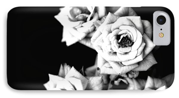 IPhone Case featuring the photograph Weeping Roses by Rachel Mirror