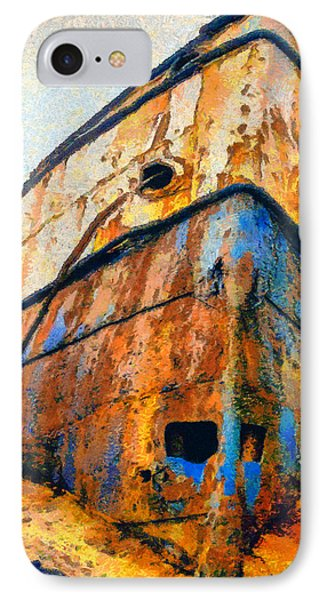 Weeping Ship Phone Case by George Rossidis