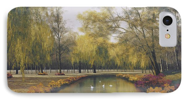Weeping Willow Phone Case by Diane Romanello