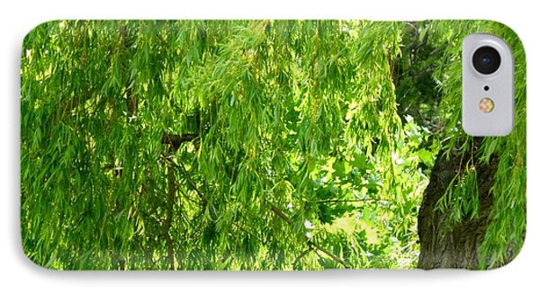Weeping Willow Green IPhone Case by Will Borden