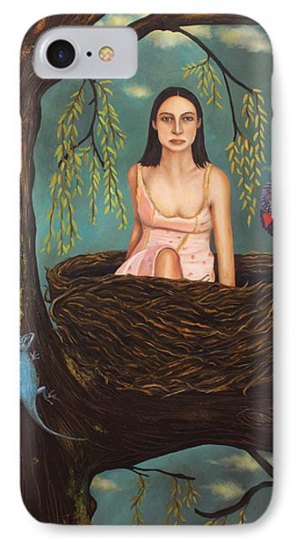 Weeping Willow Phone Case by Leah Saulnier The Painting Maniac