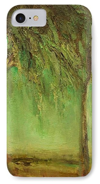 Weeping Willow IPhone Case by Mary Wolf