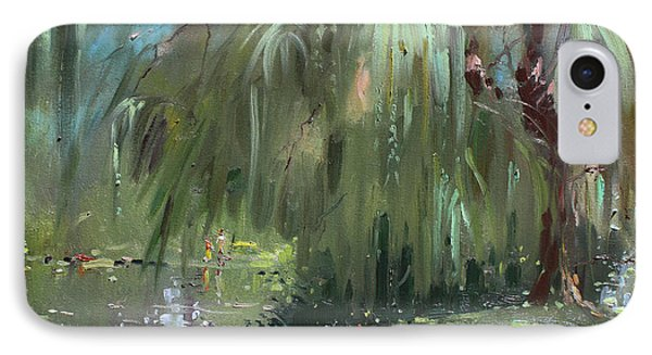 Weeping Willow Tree IPhone Case