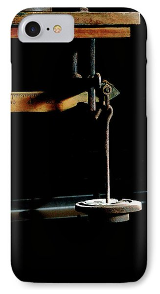 Weighing Value - Vintage Fairbank Scale IPhone Case