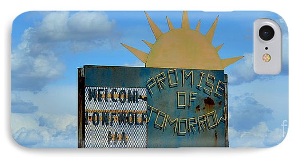 Hometown Welcome IPhone Case