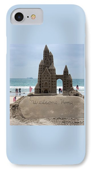 Welcome Home IPhone Case by Mary Lee Dereske