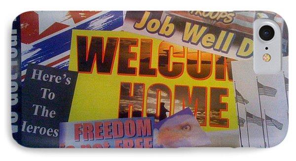Welcome Home Phone Case by Paula Talbert