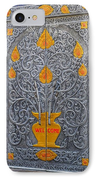 Welcome IPhone Case by Mary Zeman