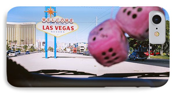 Welcome Sign Board At A Road Side IPhone Case by Panoramic Images