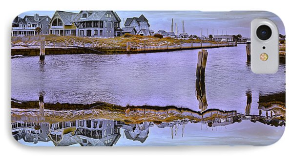 Welcome To Bald Head Island II Phone Case by Betsy Knapp