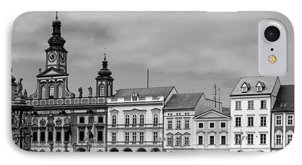 Welcome To Ceske Budejovice - Budweis Czech Republic IPhone Case by Christine Till