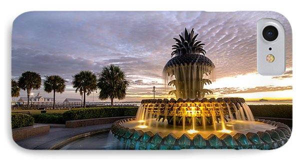 Welcome To Charleston IPhone Case by Serge Skiba