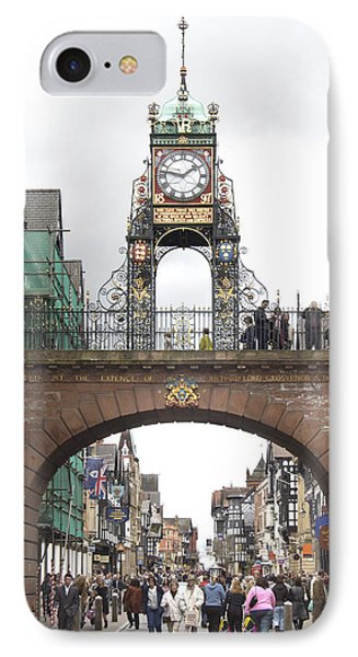Welcome To Chester Phone Case by Mike McGlothlen