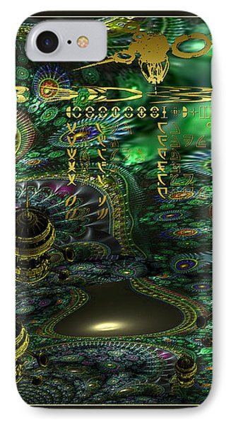 IPhone Case featuring the photograph Welcome To Cosmic City by Robert Kernodle