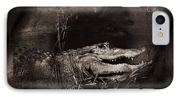 Welcome To Gator Country IPhone Case by Mark Andrew Thomas