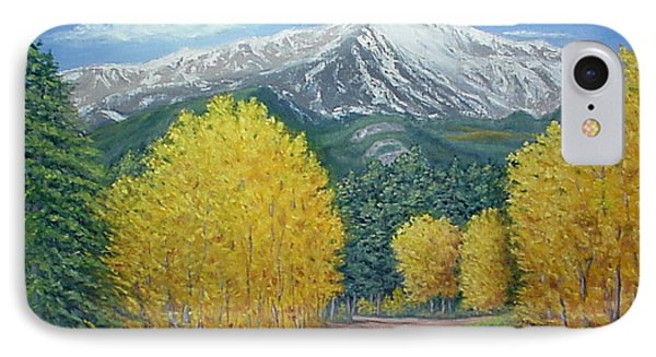 IPhone Case featuring the painting Welcome To God's Country by Fran Brooks