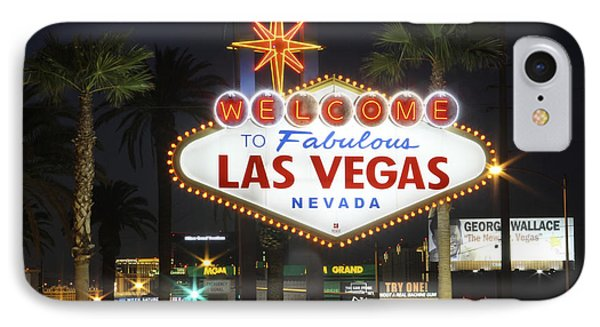 Welcome To Las Vegas Phone Case by Mike McGlothlen