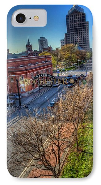 Welcome To Rochester Phone Case by Tim Buisman