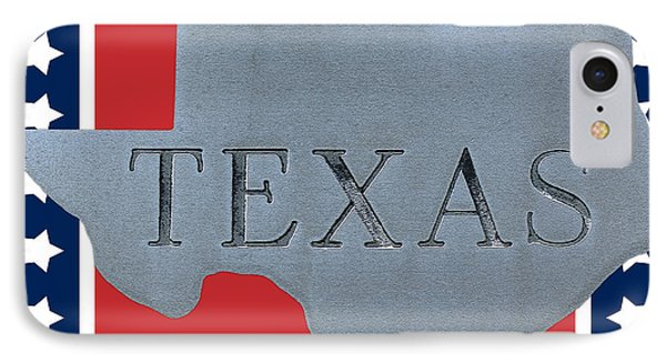 Welcome To The State Of Texas IPhone Case by Christine Till
