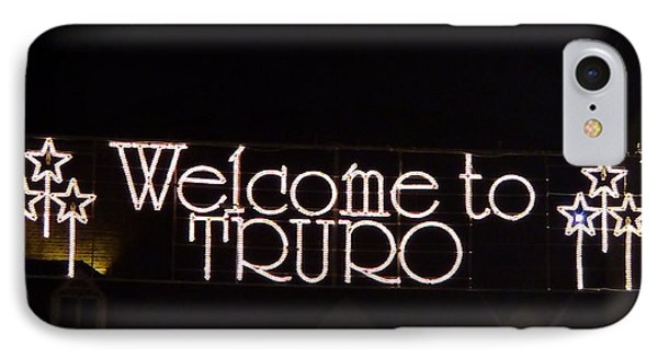 Welcome To Truro IPhone Case