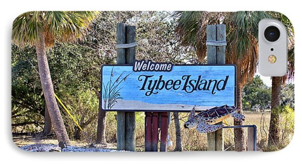 Welcome To Tybee IPhone Case